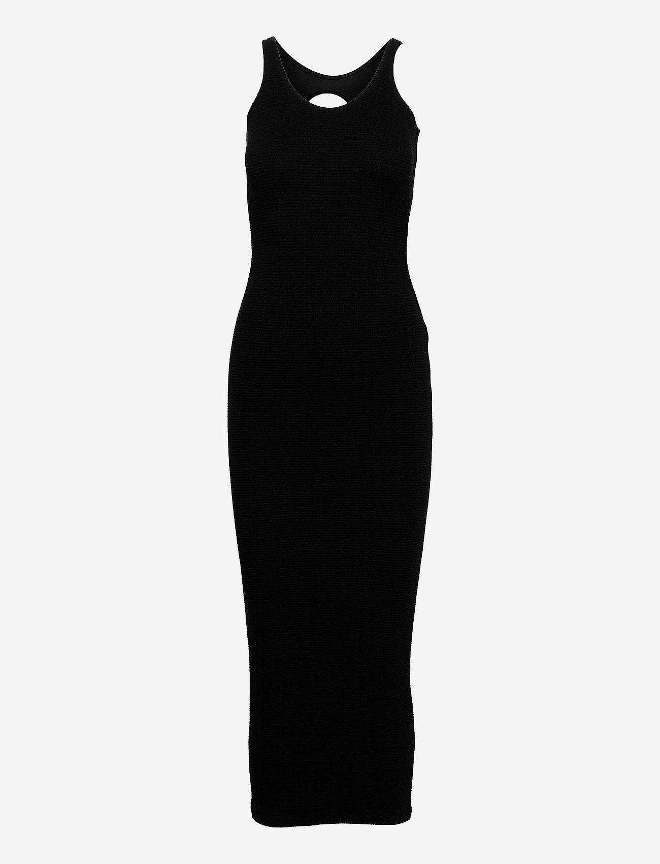 REMAIN Birger Christensen - Elvirah Dress - sommerkjoler - black - 0