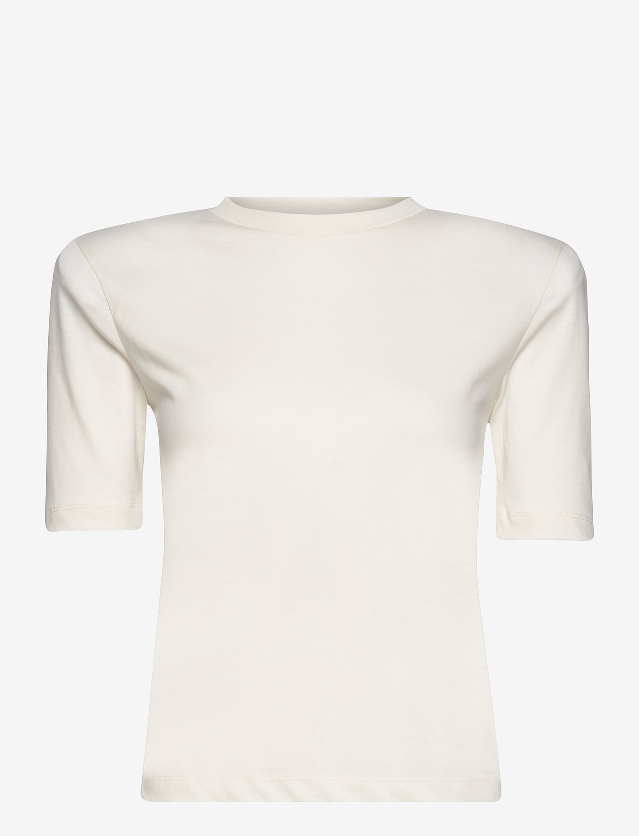 REMAIN Birger Christensen - Xenia O-Neck - t-shirts - vanilla ice - 0