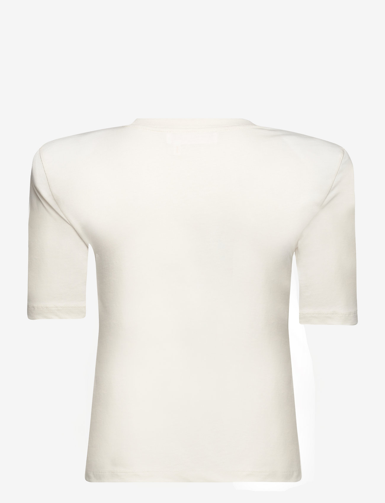 REMAIN Birger Christensen - Xenia O-Neck - t-shirts - vanilla ice - 1