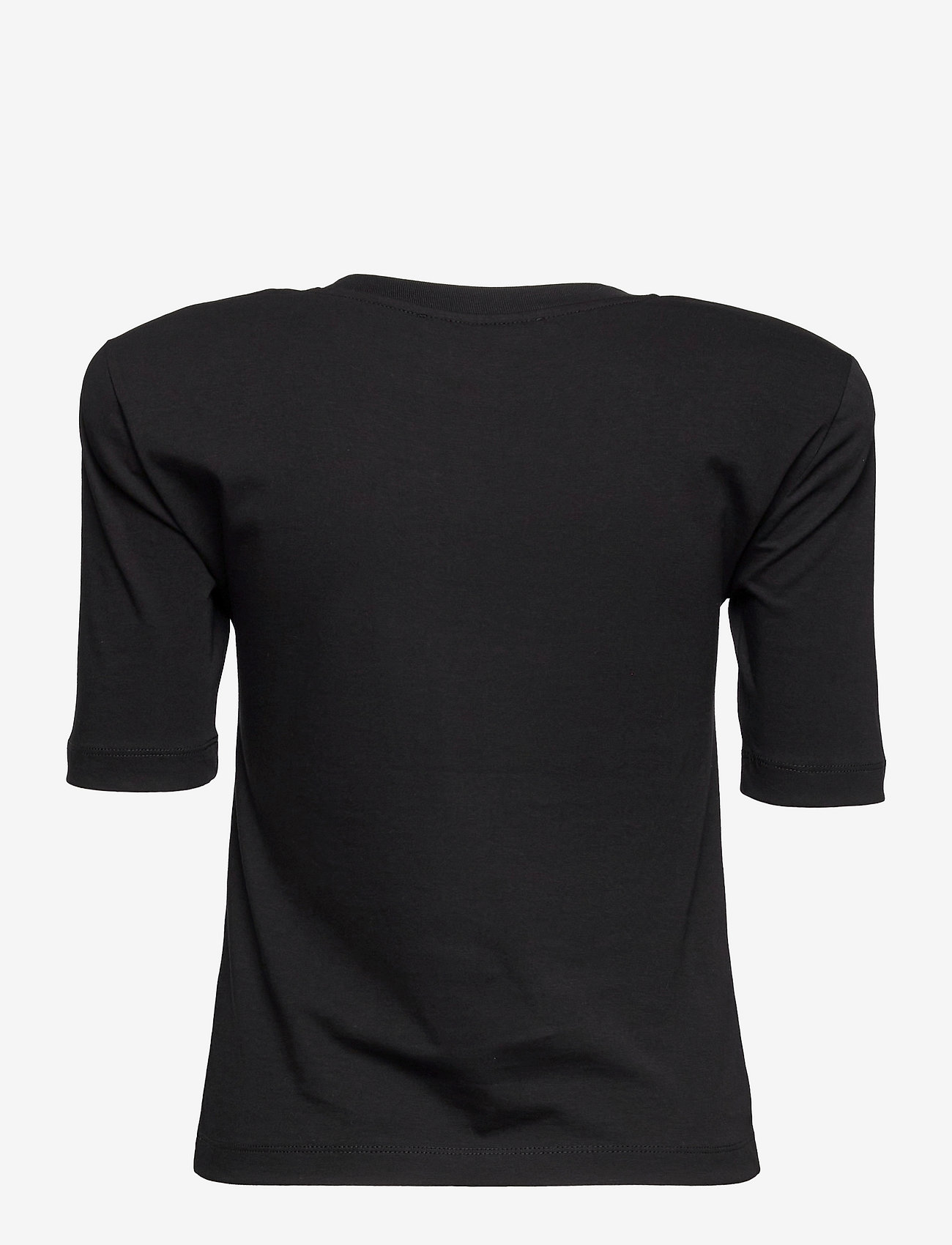 REMAIN Birger Christensen - Xenia O-Neck - t-shirts - black - 1