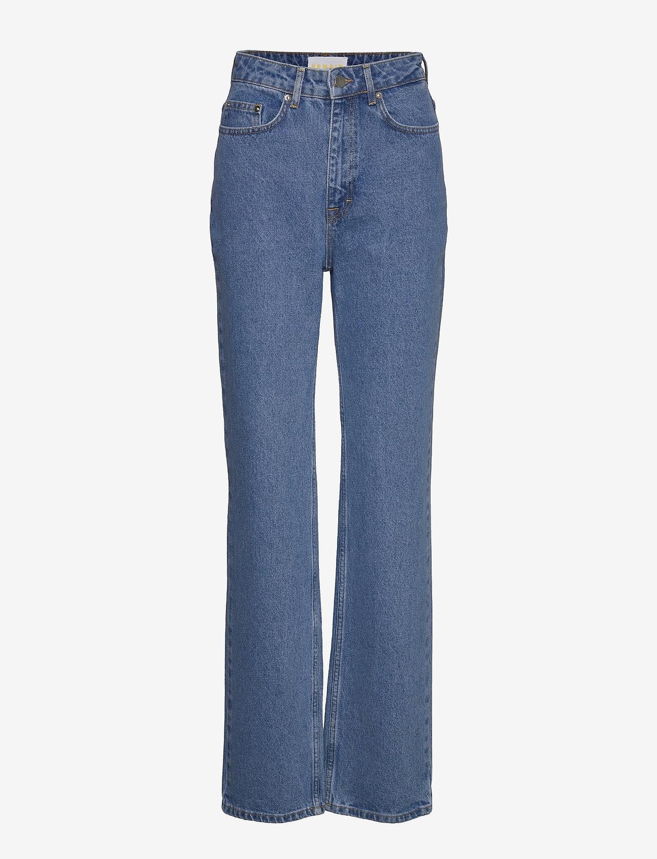 REMAIN Birger Christensen - Lynn Pants - straight jeans - light blue denim - 0