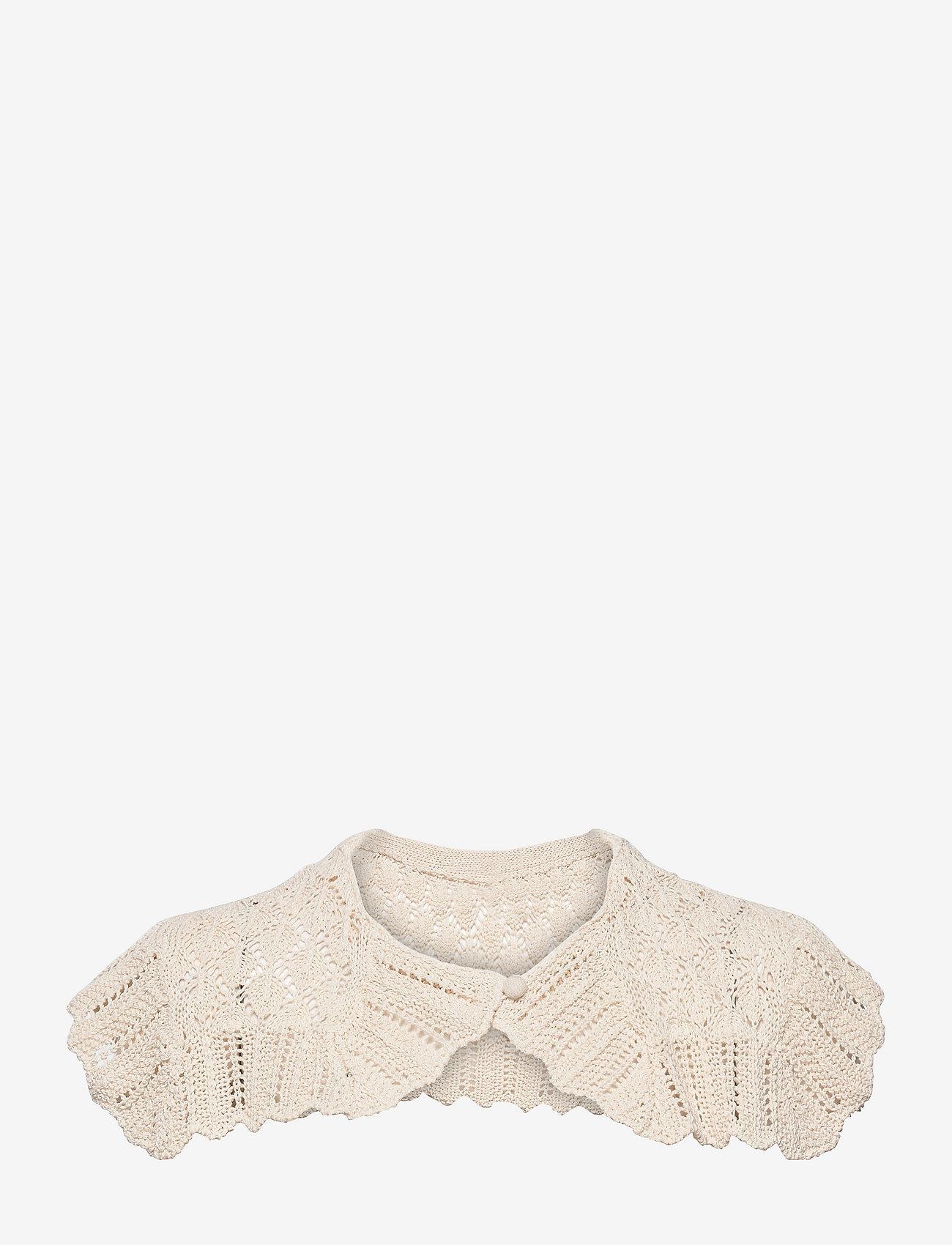 REMAIN Birger Christensen - Cecil Crochet Collar - accessories - vanilla ice - 0