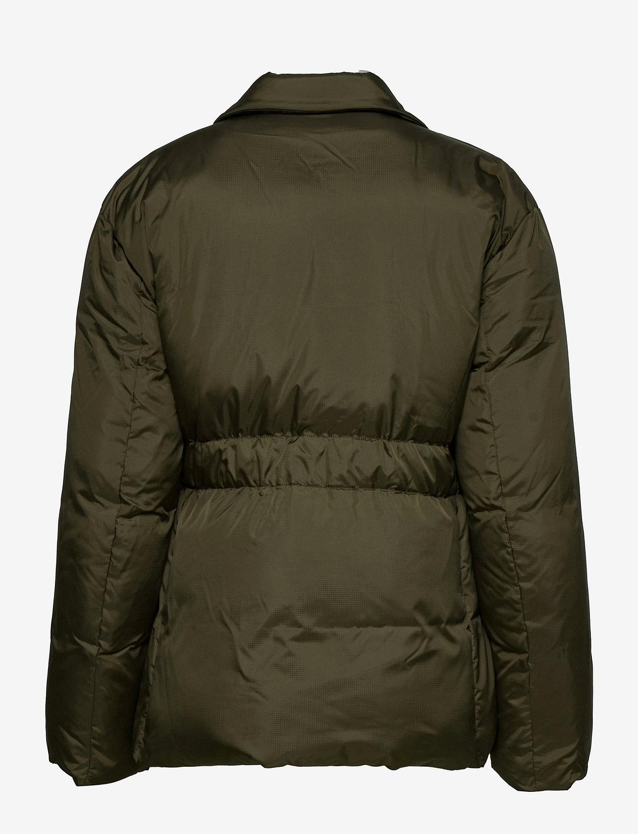 REMAIN Birger Christensen - Dalida Jacket Ribstop - forede jakker - military olive - 1