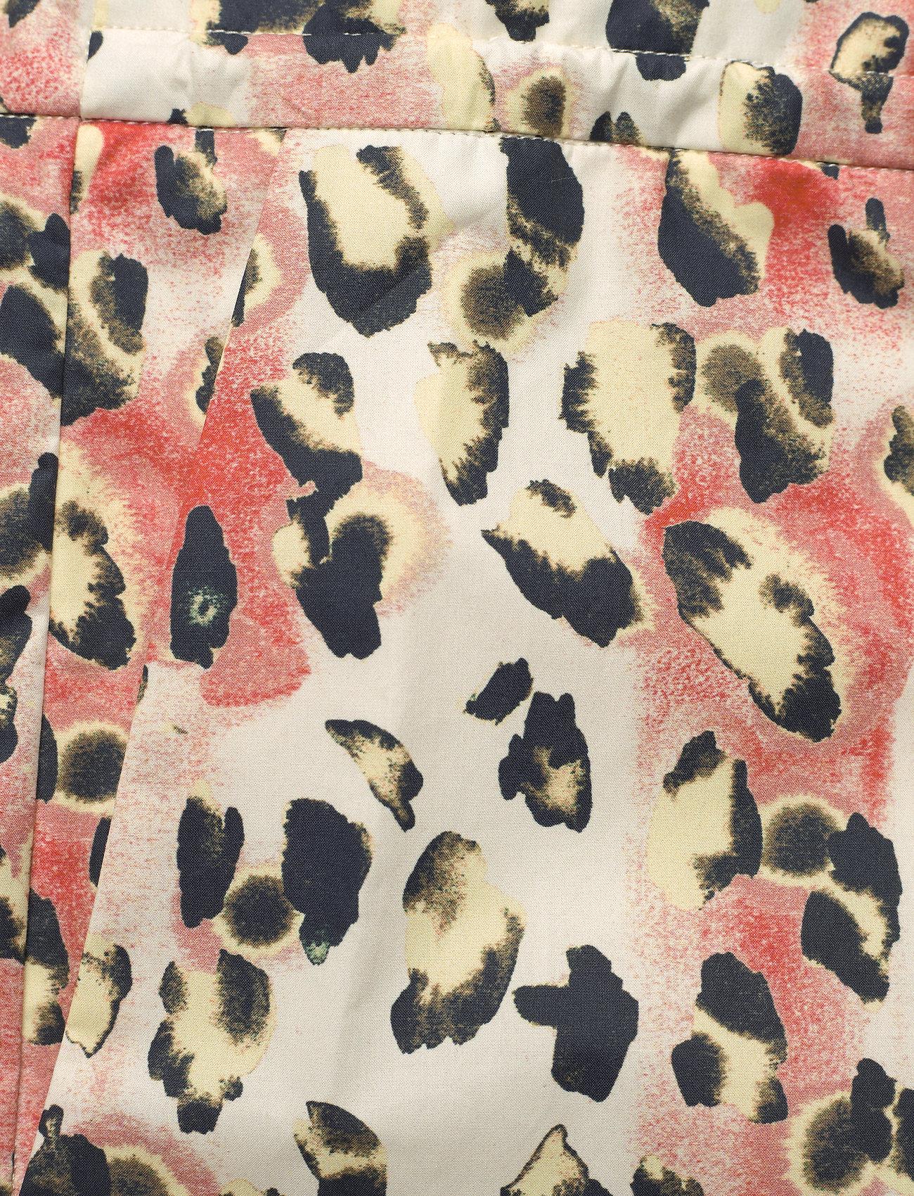 REMAIN Birger Christensen - Camille Shorts - casual shorts - leopard aop - 4