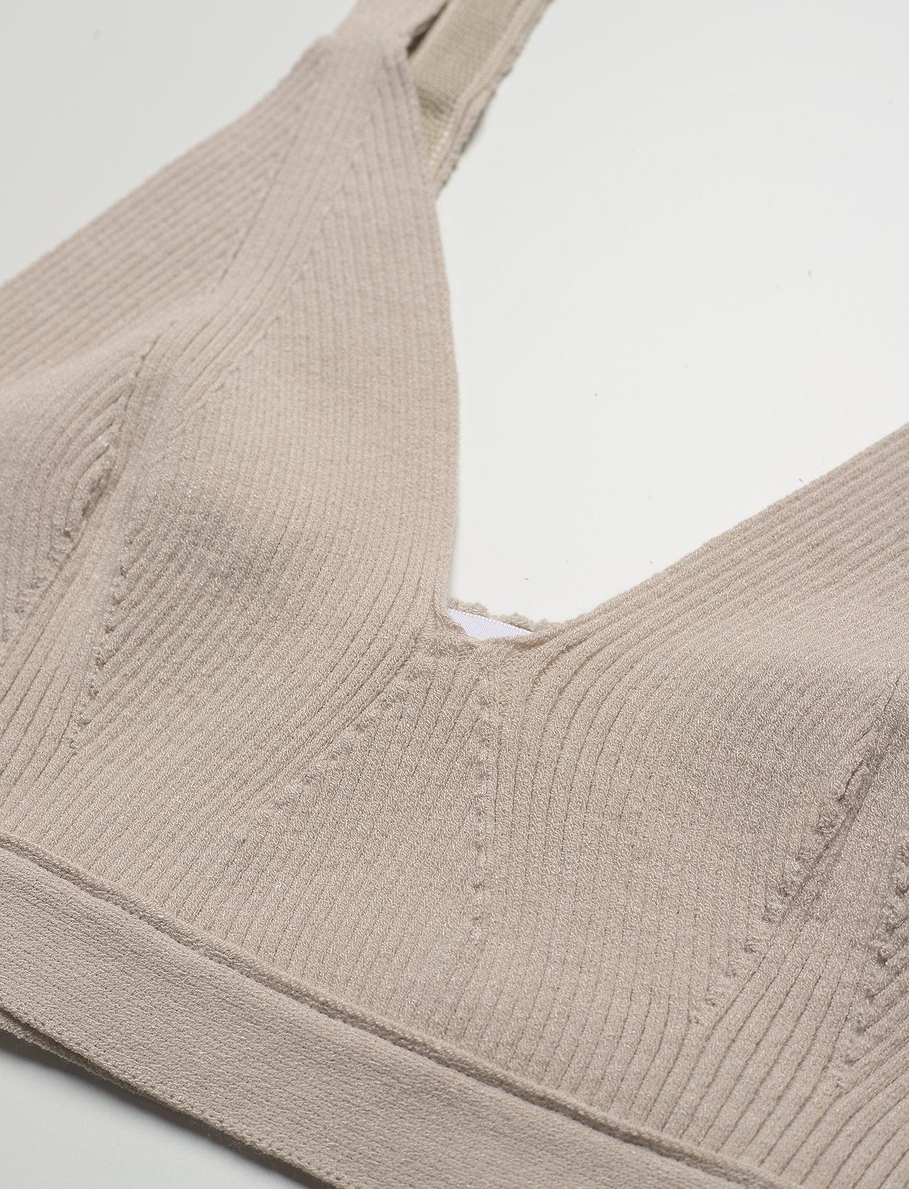 REMAIN Birger Christensen - Gunilla Bra - crop tops - pumice stone - 2