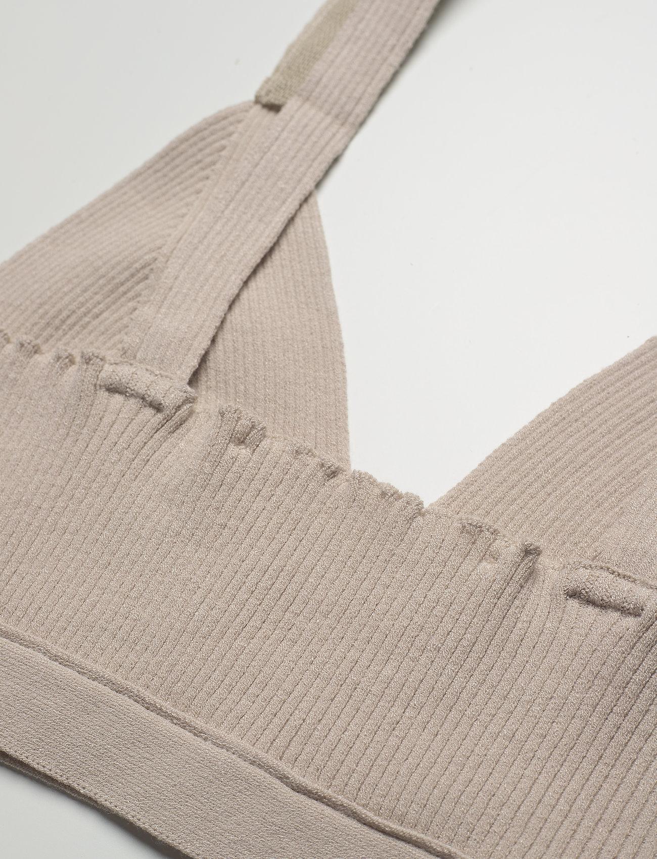 REMAIN Birger Christensen - Gunilla Bra - crop tops - pumice stone - 3
