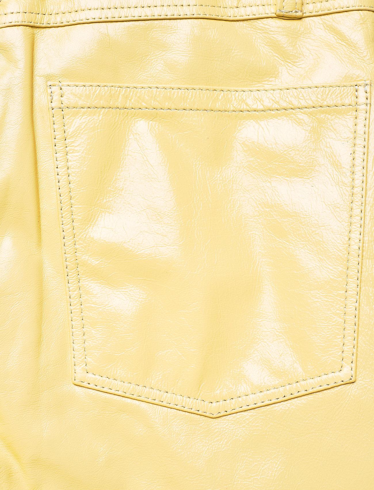 REMAIN Birger Christensen - Ariane Trousers - bukser med brede ben - straw - 6