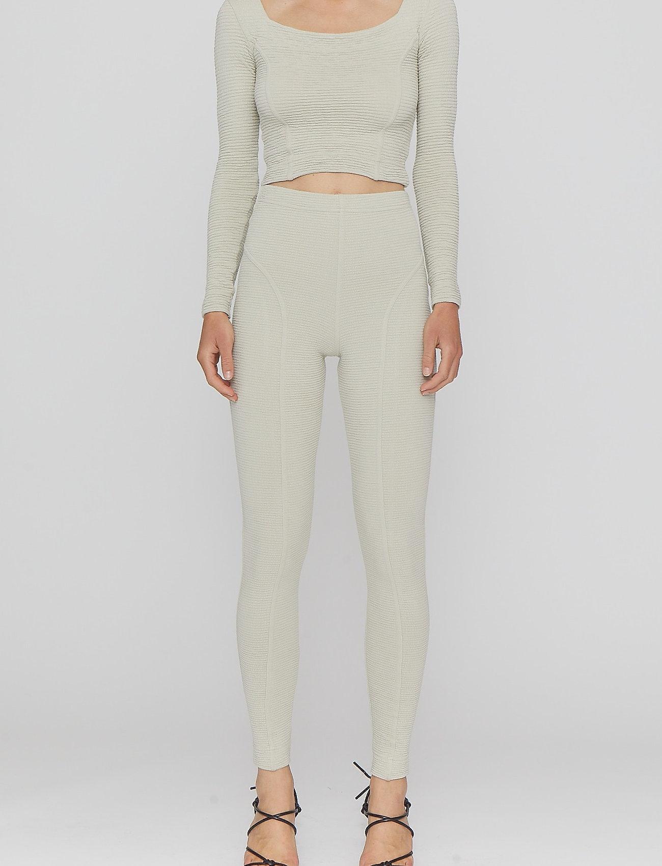 REMAIN Birger Christensen - Marisa Tights - leggings - pelican - 0