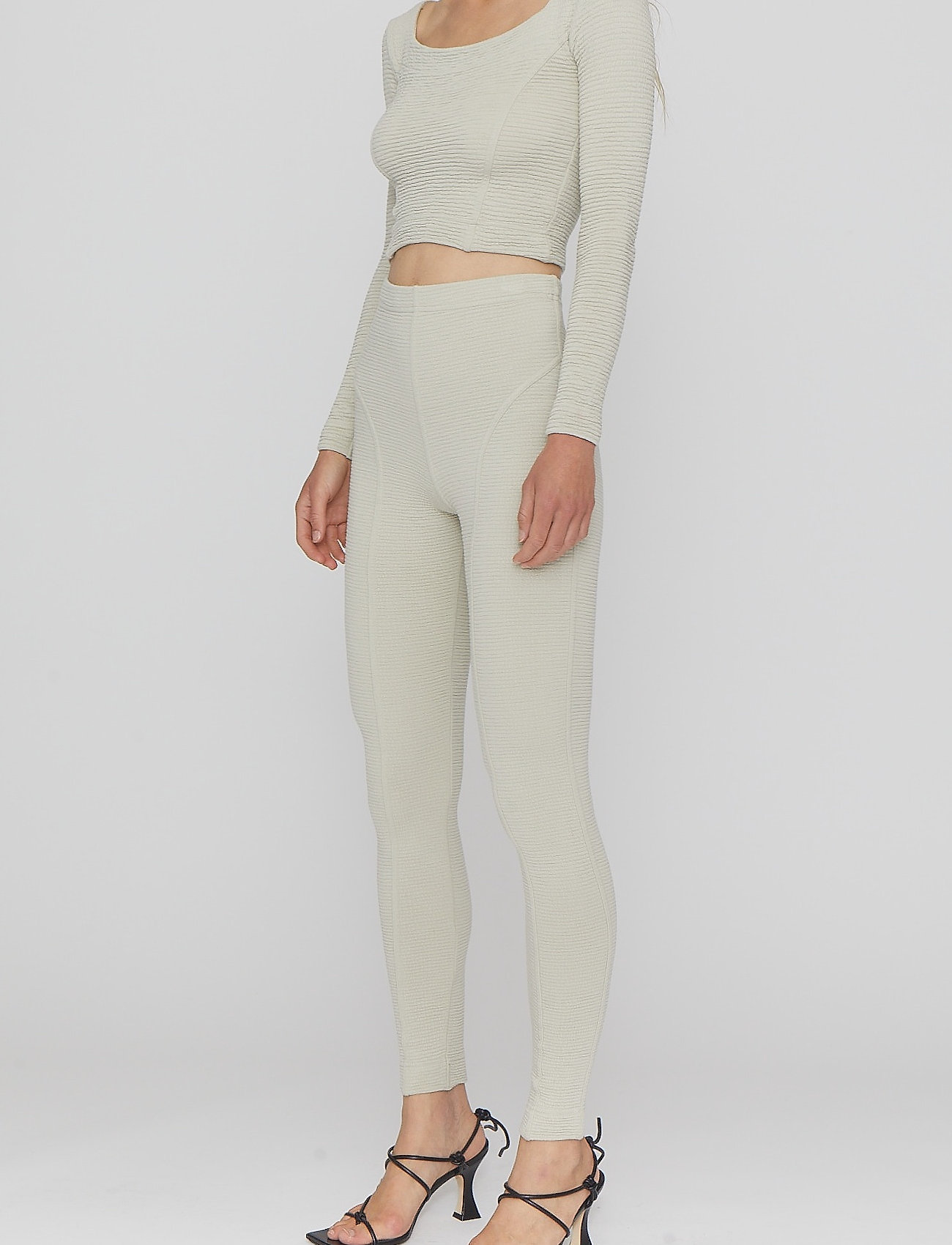 REMAIN Birger Christensen - Marisa Tights - leggings - pelican - 3