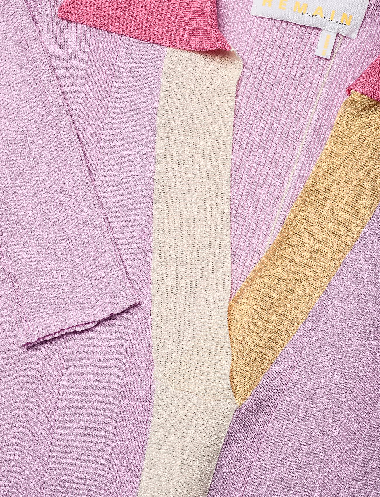 REMAIN Birger Christensen - Joy Dress - sommerkjoler - pink lavender comb - 2