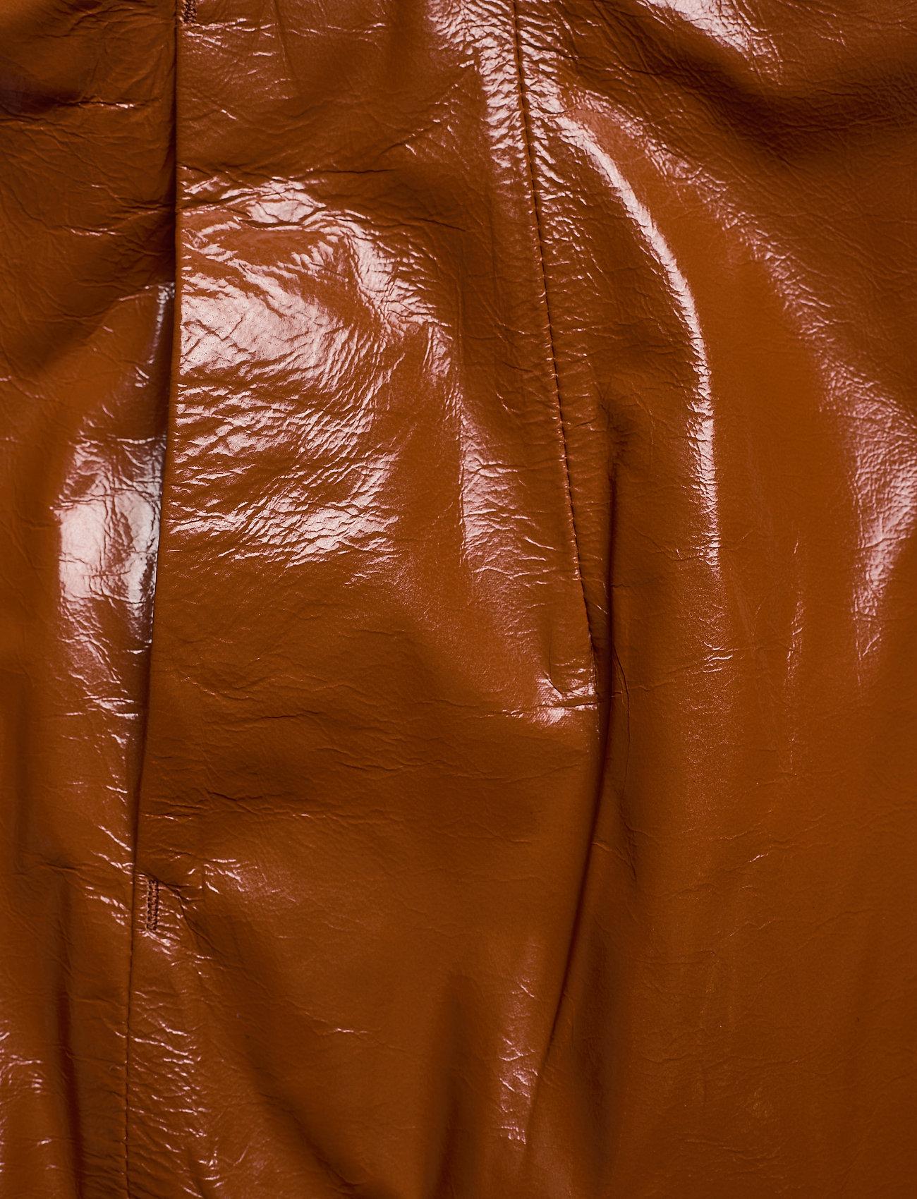 REMAIN Birger Christensen - Katy Skirt Leather - korte nederdele - sierra - 2