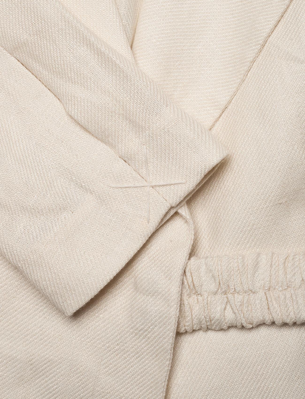 REMAIN Birger Christensen - Vivie Blazer - oversized blazere - white asparagus - 3