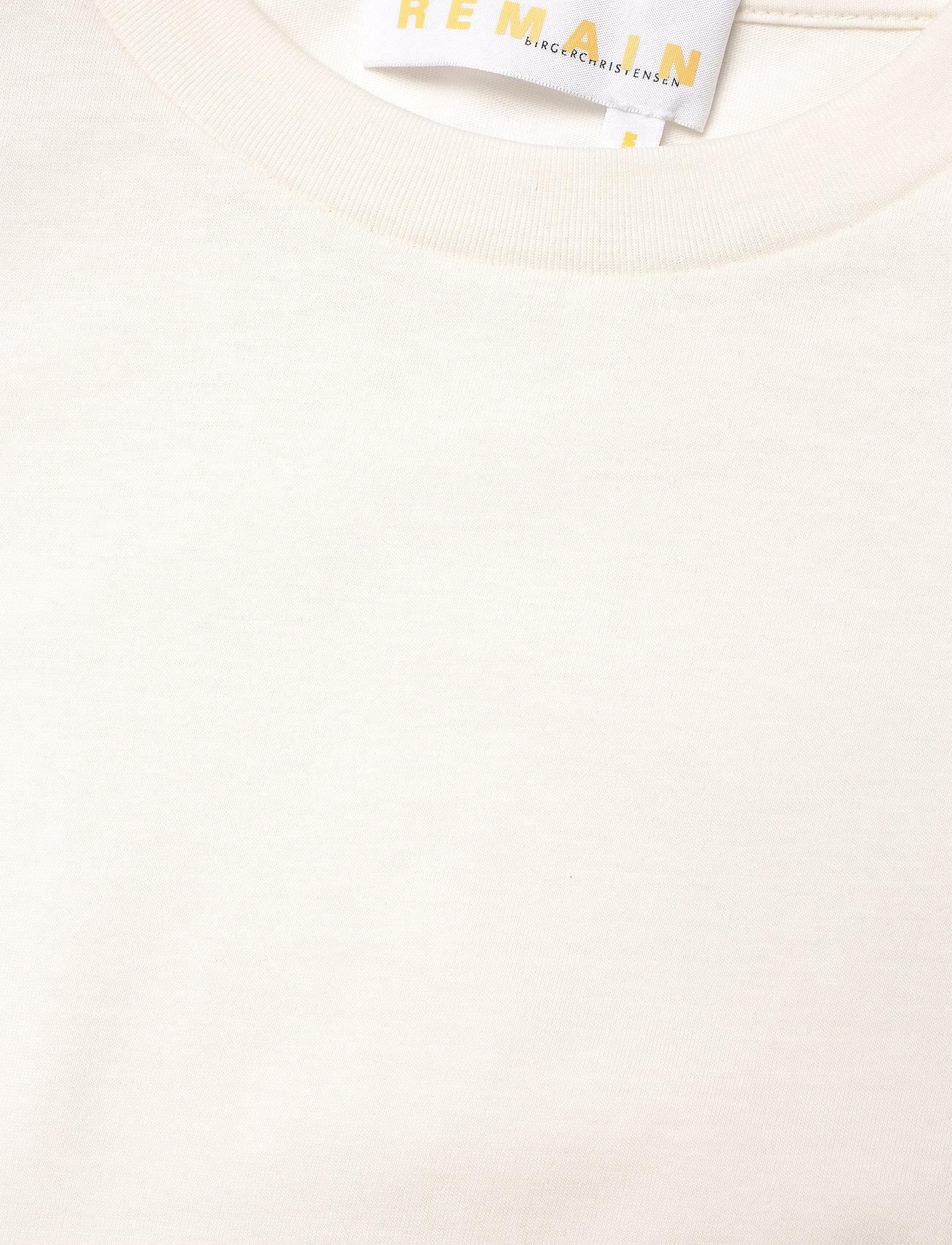 REMAIN Birger Christensen - Xenia O-Neck - t-shirts - vanilla ice - 2