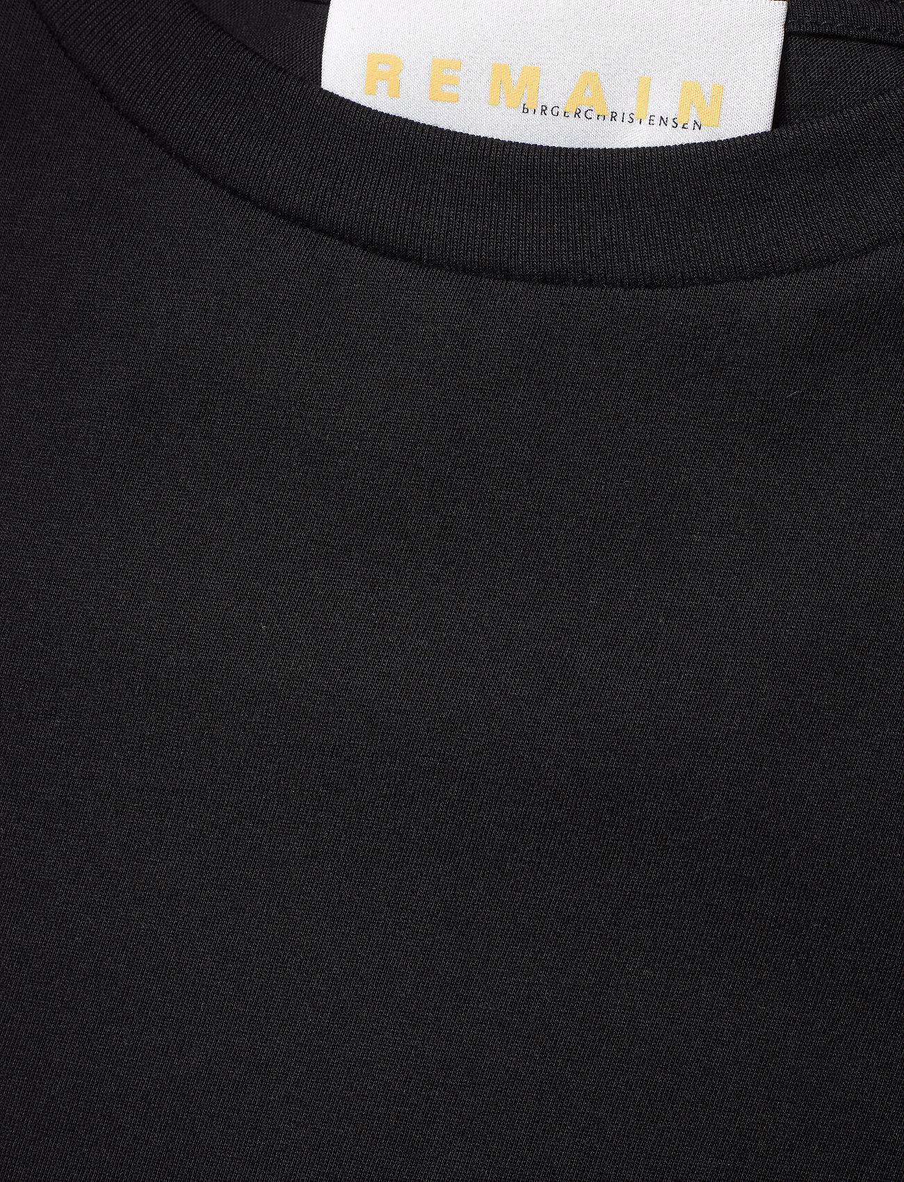 REMAIN Birger Christensen - Xenia O-Neck - t-shirts - black - 2