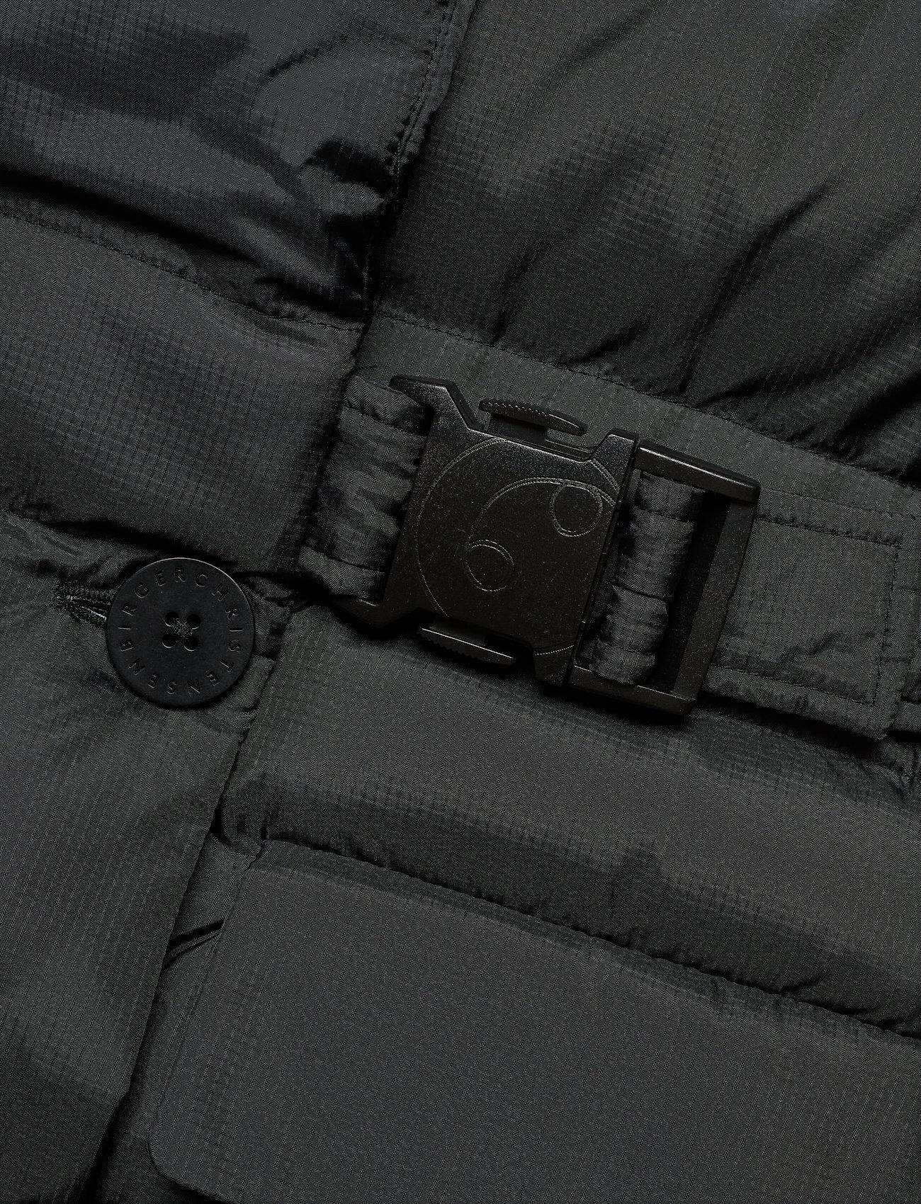 REMAIN Birger Christensen - Dalida Jacket Ribstop - forede jakker - black - 3