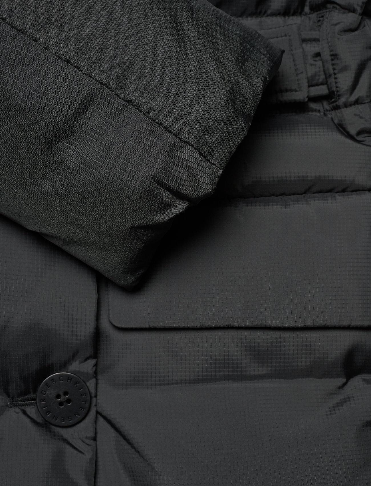 REMAIN Birger Christensen - Dalida Jacket Ribstop - forede jakker - black - 4