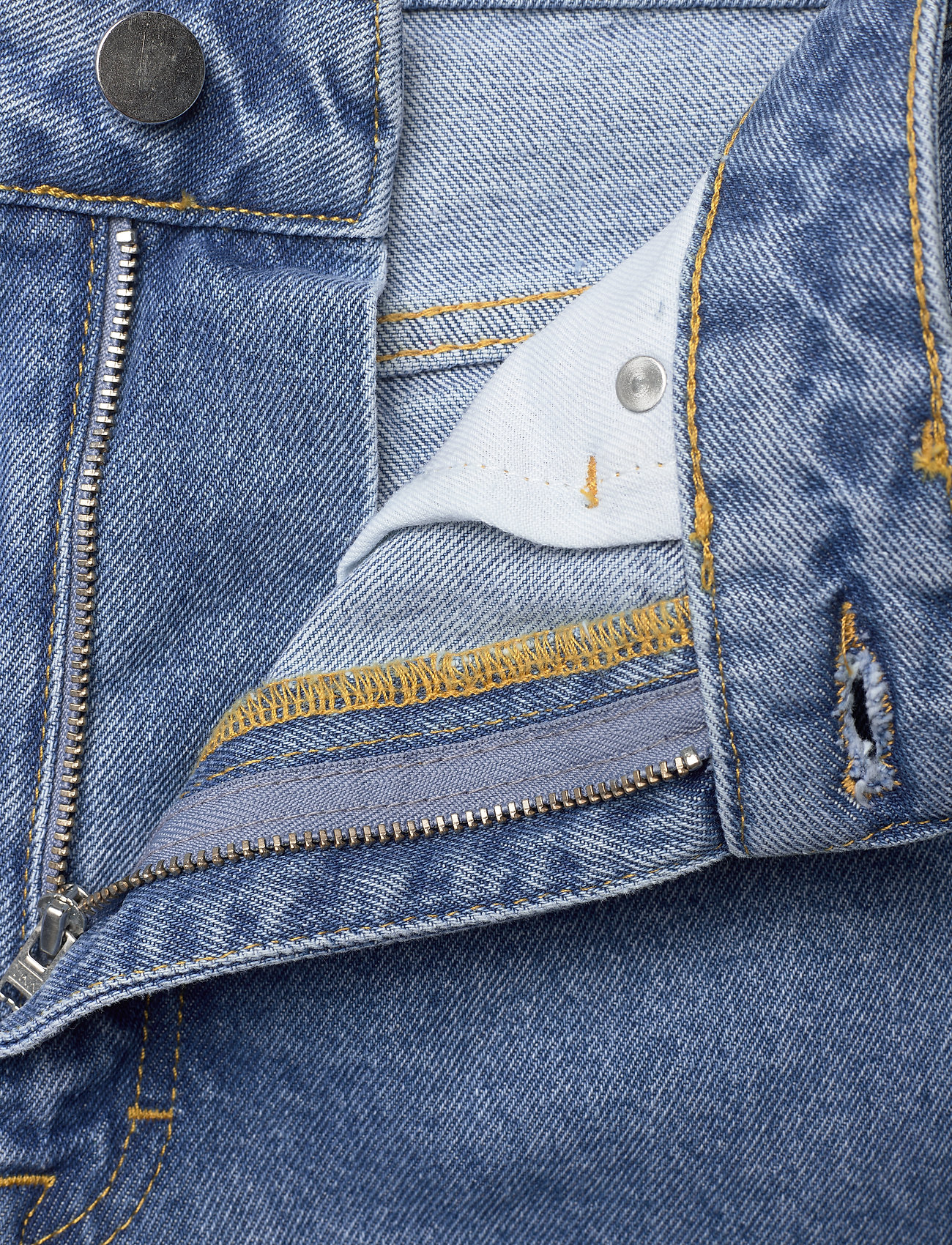 REMAIN Birger Christensen - Lynn Pants - straight jeans - light blue denim - 3