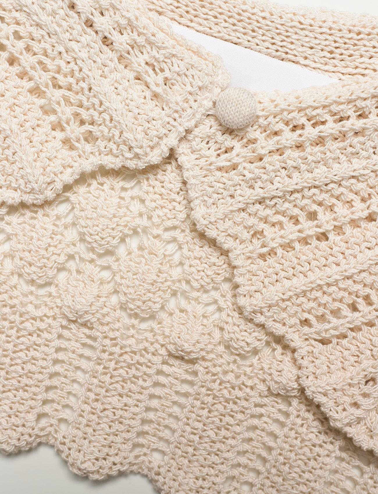 REMAIN Birger Christensen - Cecil Crochet Collar - accessories - vanilla ice - 2
