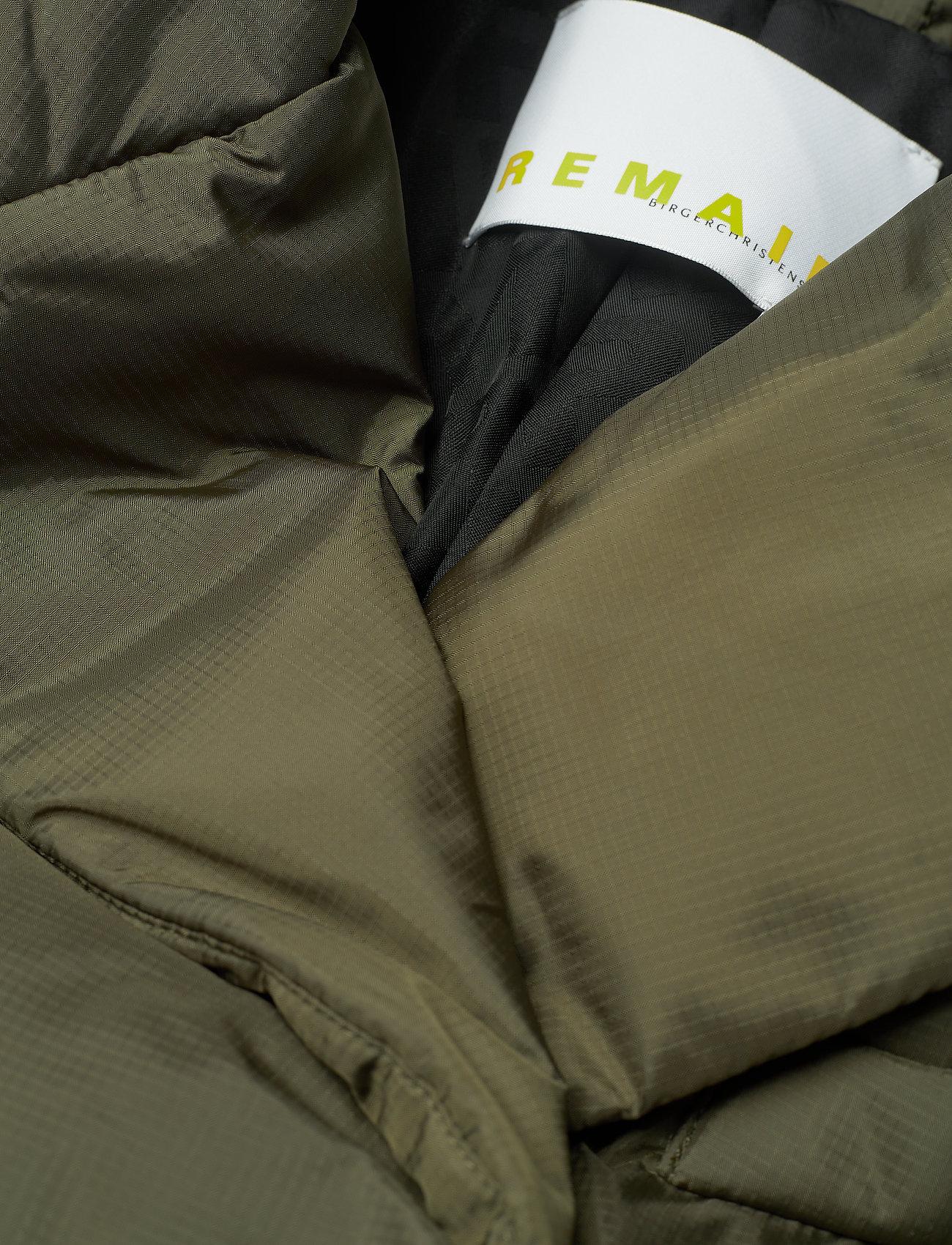 REMAIN Birger Christensen - Dalida Jacket Ribstop - forede jakker - military olive - 2