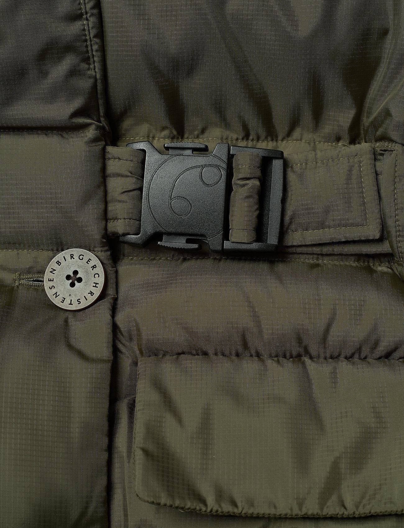 REMAIN Birger Christensen - Dalida Jacket Ribstop - forede jakker - military olive - 3