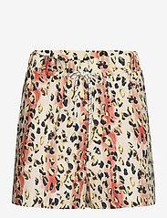 REMAIN Birger Christensen - Camille Shorts - casual shorts - leopard aop - 1