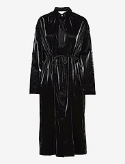 Violaine Coat - BLACK
