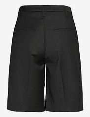 REMAIN Birger Christensen - Maisy Shorts - leren shorts - black - 2