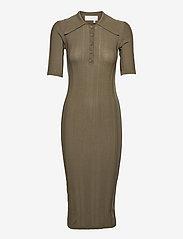 REMAIN Birger Christensen - Evial Dress - sommerkjoler - military olive - 0