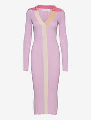 REMAIN Birger Christensen - Joy Dress - sommerkjoler - pink lavender comb - 0