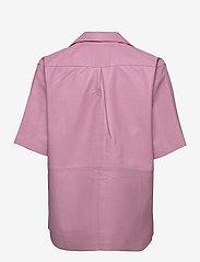 REMAIN Birger Christensen - Jocy Shirt Leather - denimskjorter - pink lavender - 1