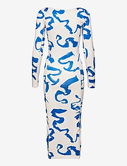 REMAIN Birger Christensen - Aviva Dress - bodycon dresses - vanilla ice comb - 1