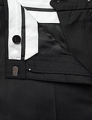 REMAIN Birger Christensen - Maisy Shorts - leren shorts - black - 5