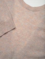 REMAIN Birger Christensen - Valcyrie Open Back Knit Dress - maxi dresses - gravel - 2