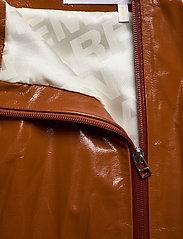 REMAIN Birger Christensen - Katy Skirt Leather - korte nederdele - sierra - 3