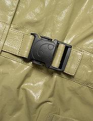 REMAIN Birger Christensen - Maika Coat Leather - lette frakker - gray green - 4