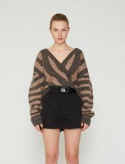 REMAIN Birger Christensen - Lola Shorts - casual shorts - black - 0