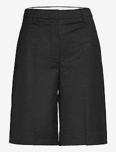 Maisy Shorts - short en cuir - black
