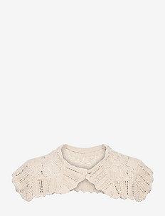 Cecil Crochet Collar - tilbehør - vanilla ice