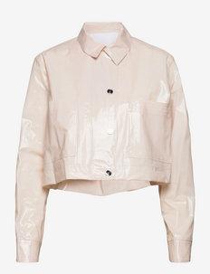 Mariona Jacket - leichte jacken - pastel parchment