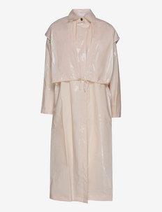 Hana Coat - lette frakker - pastel parchment