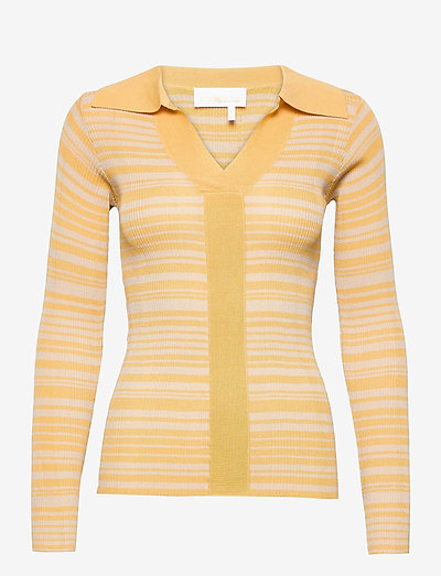 Joy Top - knitted tops - straw comb