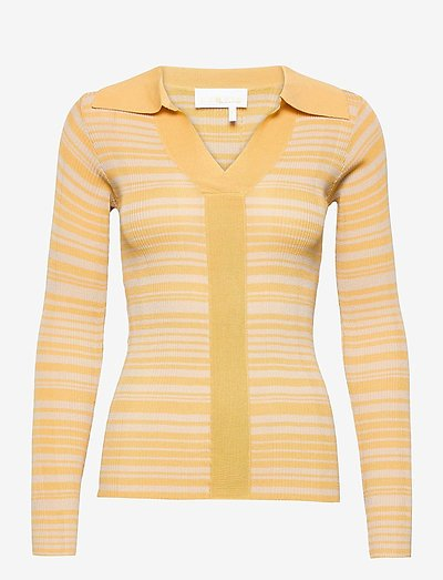 Joy Top - hauts tricotés - straw comb