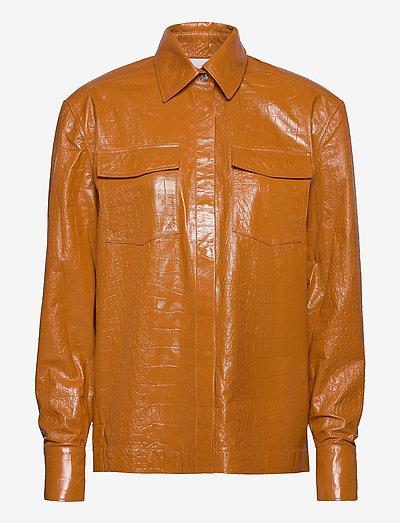 Carina Shirt - langärmlige hemden - topaz