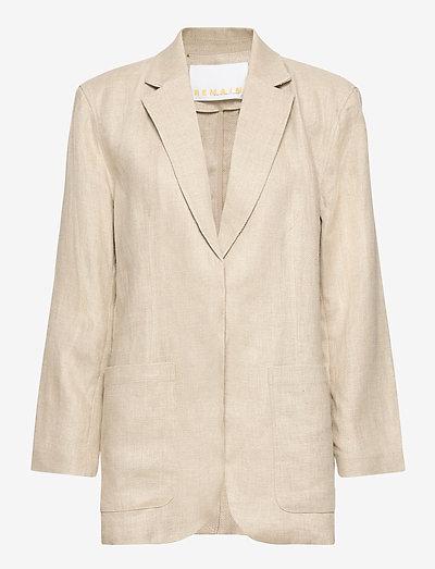 Helen Blazer - oversize blazer - beige