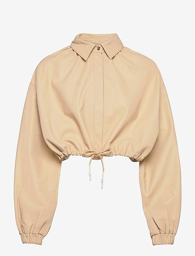 Lita Jacket - læderjakker - angora