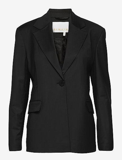 Carla Blazer - tailored blazers - black
