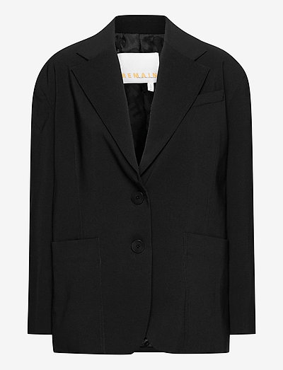 Mandy Blazer - oversized blazere - black