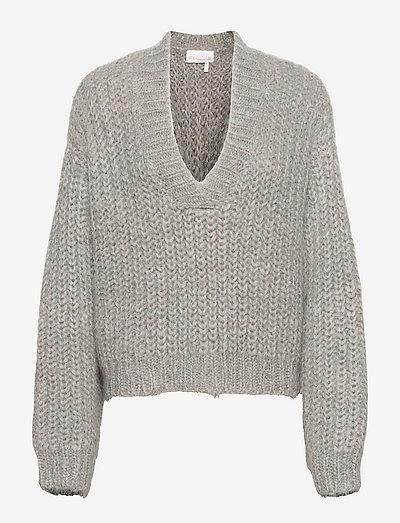 Stinna Polo Knit - trøjer - pearl blue