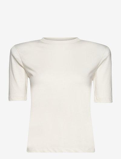Xenia O-Neck - t-shirts - vanilla ice