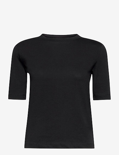 Xenia O-Neck - t-shirts - black